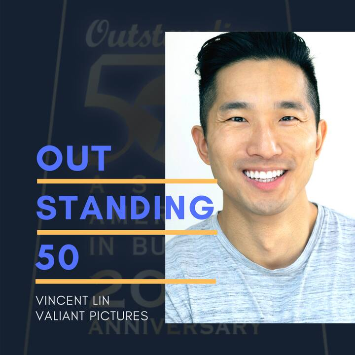 Our very own director/co-founder Vincent Lin is an #Outstanding50 Asian Americans In Business Award recipient! Congrats ...