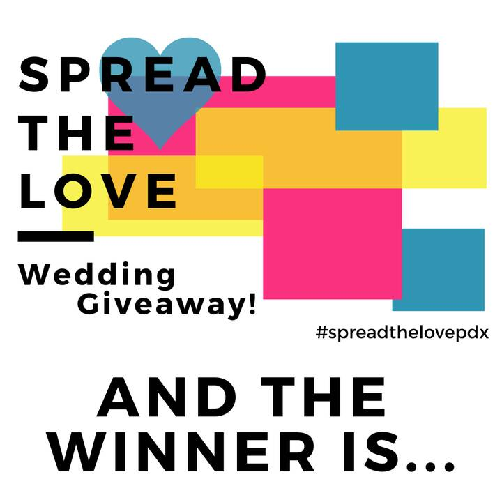 Happy Valentine's Day!!!And what a better way to celebrate then to announce the winner of the Spread the Love Wedding Gi...