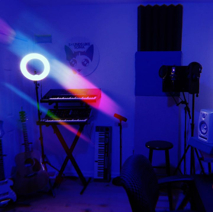 💙STUDIO C💙We are currently building up our 3rd studio for producers and engineers to rent. Use our mics, speakers, synth...