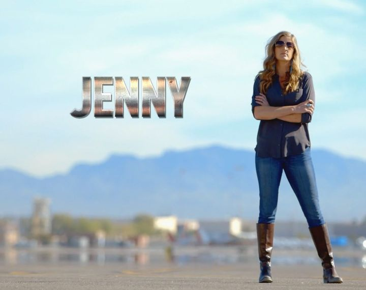 Jenny Evans was born in Alaska and comes from a long history of bush pilots. Both of her grandfathers and her father fle...