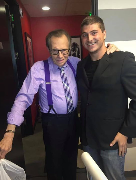 RIP to a legend, Larry King. I had the privilege of working with him and he was such a down to earth personable man. I a...