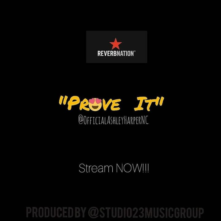 Streaming NOW on all platforms🔥🔥🔥🔥 @officialashleyharpernc PROVE IT new single STREAM now😍                 #hiphop #hiph...