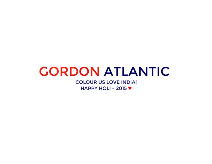 We Love India, We Love Colour, and We Love Love - Happy Holi 2015 -  India from your friends at Gordon Atlantic All Indi...