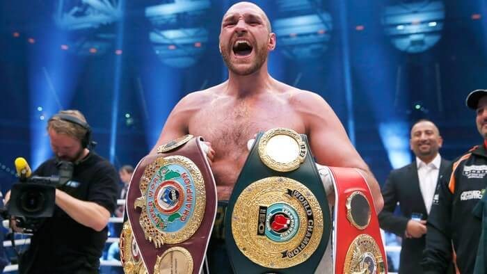 Boxing Heavyweight Champion Tyson Fury Dealt With Depression By Taking Co***ne