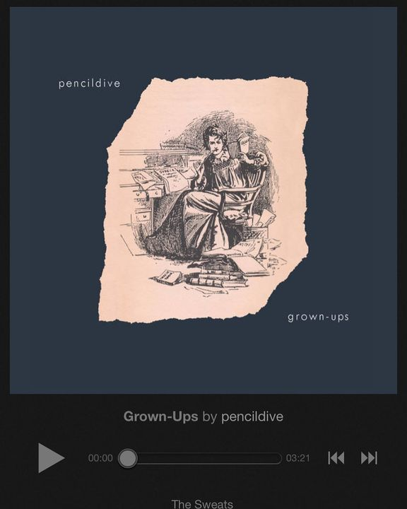 """I'm a little late to the party per usual@pencildiveband just released their first full length called """"Grown-Ups"""" on @pai..."""