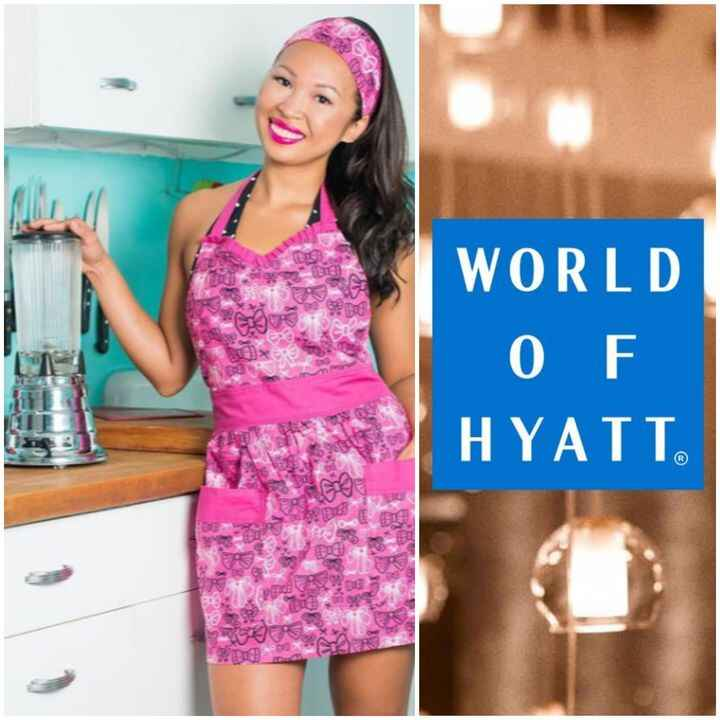 Congrats to the @HealthyHappyChef on her booking & collaboration with the World of Hyatt!