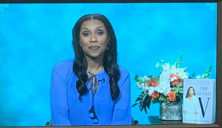 Great satellite media tour yesterday with Dr Jackie Walters (Bravo's Married to Medicine and author of The Queen V) talk...