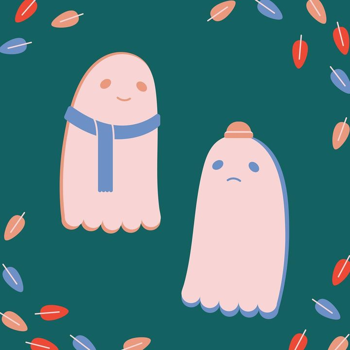 it's almost october... u know what that means.. the ghost writers are getting cozy🧣(yes we know ghosts don't actually fe...
