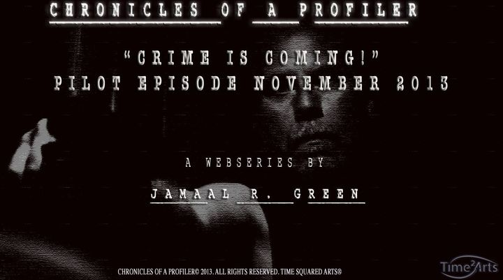 Crime is Coming November 1st 2013.  Watch,subscribe,share, then hide...
