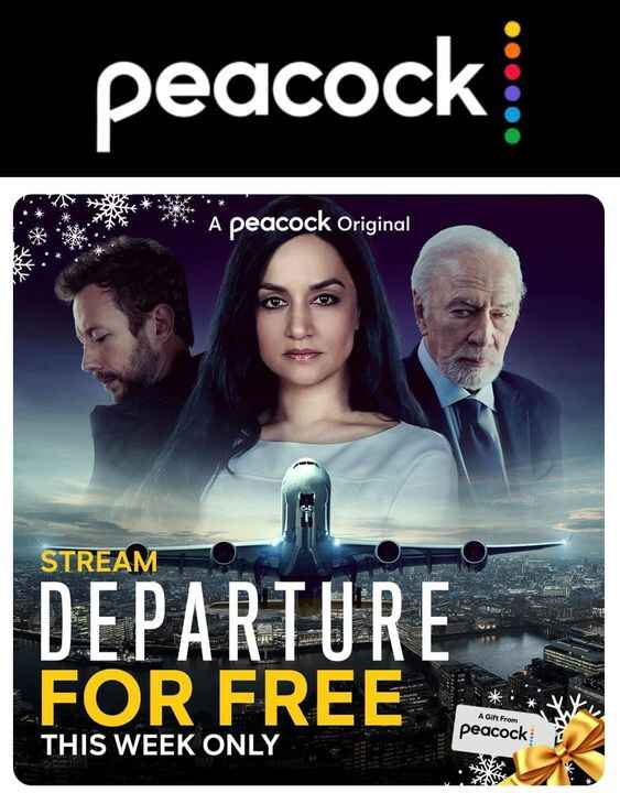 Check out DEPARTURE on @peacockTV.  We had the pleasure of working on the series!