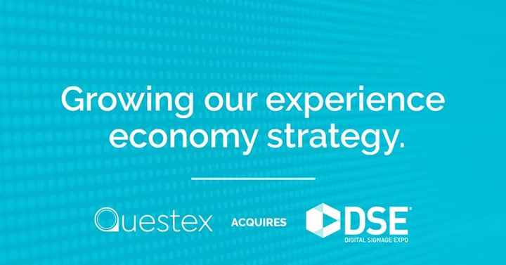 It's an exciting day for Questex! We're growing our portfolio through the acquisition of Digital Signage Expo. The digit...