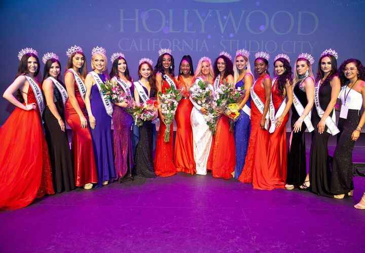 So proud of these beautiful women!!✨ #misshollywood #pageants #makeup #missstudiocity #missusa #beauty #actress #fitness...