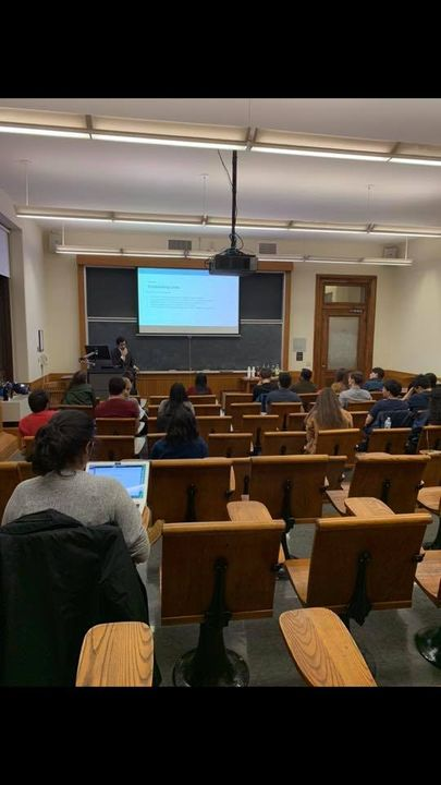 Thank you to all those who attended our research assistant info event! We've one event left this semester, a professor p...