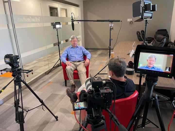 Shooting in Chantilly, VA today at AlterEcho-an environmental consulting company. Doing several employee profiles, as we...
