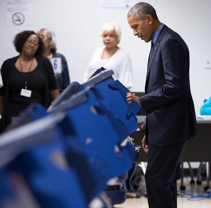 """#PresidentObama has a message for every American - """"Get out there and vote!"""" #ElectionDay"""