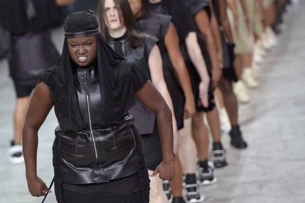 Exclusive: A Stepper In Rick Owens' Fashion Show Tells All