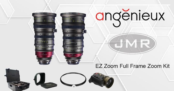Rent the Amgenieux EZ lens kit from JMR Digital Cinema Rentals. This kit consists of the EZ Series 15-40 and the 30-90mm...