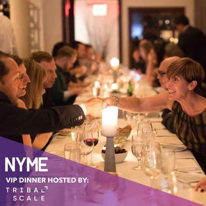 Cheers to the greatest NYME Fest yet! Thank you to TribalScale for hosting the VIP dinner. It was a pleasure to connect ...