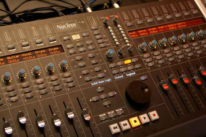 Exited about our latest studio upgrade.  Price Productions now boasts a beautiful new Solid State Logic Nucleus console!