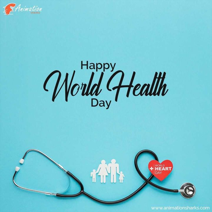It is good health that can make you climb mountains and achieve your dreams. Happy World Health Day! https://animationsh...