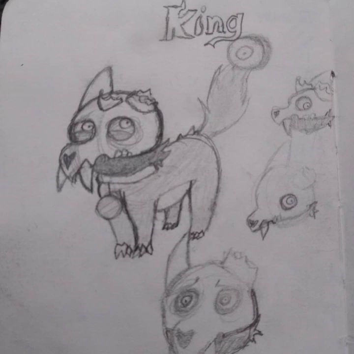 Started watching Owl house and I just had to draw King. Fu***ng adorable 😩 😁#Owlhouse