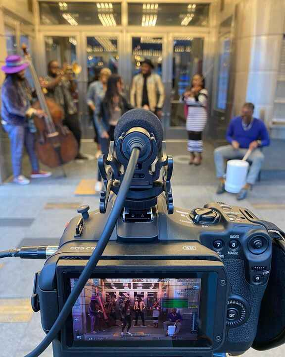 Such a fun shoot at @apollotheater in #Harlem last month.#LiveMusic #TapDance #Footwork #CanonC70 #C70 #MusicVideoDirect...