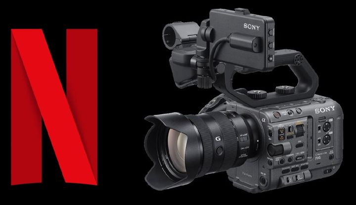 Latest news on the Sony FXS6 one of the latest cameras approved by Neflix Except the anamorphic mode. #sonyfx6 #sony6kca...