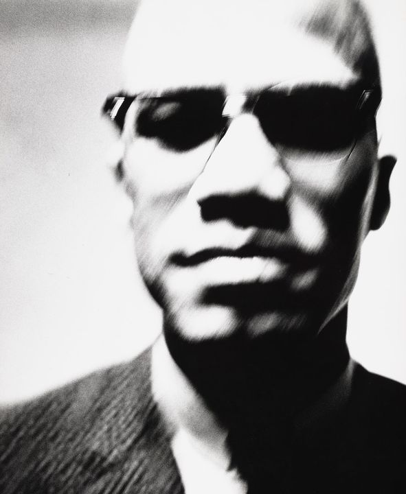 """""""The New Yorker published its first full-page photograph, a 1963 image of Malcolm X by Richard Avedon. """"-New Yorker Magz..."""